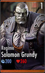 Solomon Grundy - Regime (HD)