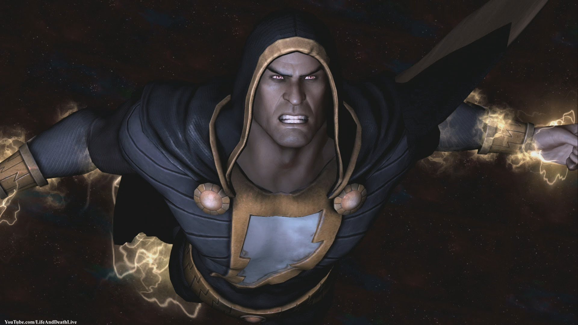 New 52 Shazam Skin From The Console Version Of Injustice