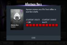 Aquman stats for his sp2