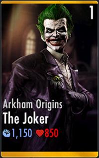 The jokerarkham origins injustice mobile wiki fandom powered by the joker arkham origins hd voltagebd Image collections
