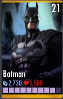Batman 9 bars of energy