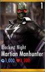 Martian Manhunter - Blackest Night