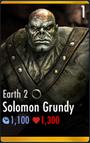Solomon Grundy - Earth 2 (HD)