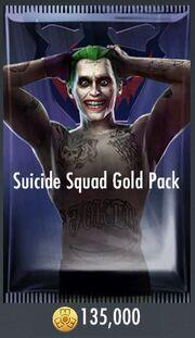 Suicide Squad Gold Pack