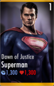 Dawn of Justice Superman