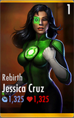 Green Lantern Jessica Cruz - Rebirth (HD)