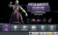 Martian Manhunter challenge