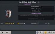Fourth World Godly Helmet EVOLVED Stats