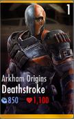 Arkham Origins Deathstroke
