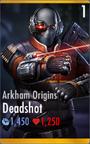 Arkham Origins Deadshot
