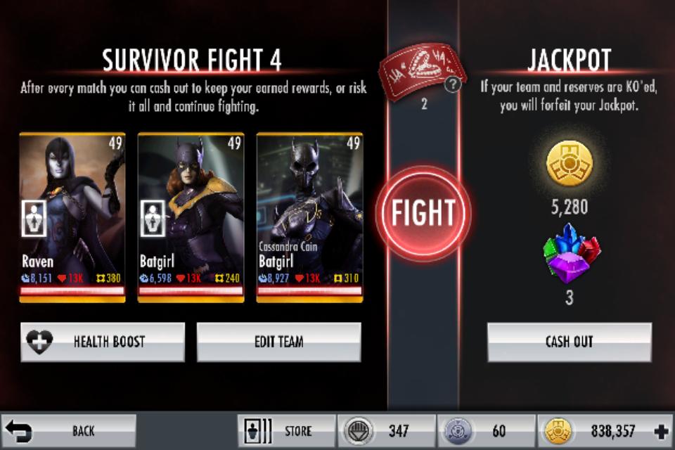 Survivor Mode | Injustice Mobile Wiki | FANDOM powered by Wikia
