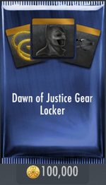 Dawn of Justice Gear Locker