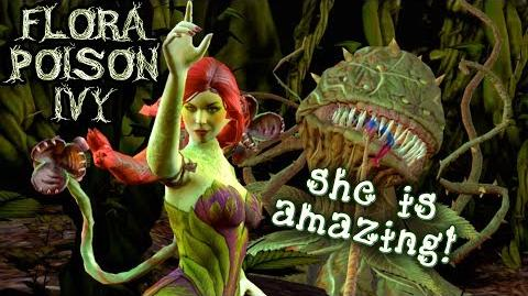 Injustice 2 Mobile. Flora Poison Ivy GAMEPLAY. Super Move, Special Attacks, Review.