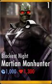 Martian Manhunter Blackest Night