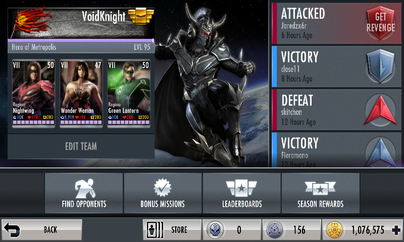 Injustice mobile matchmaking