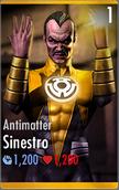 Sinestro - Antimatter