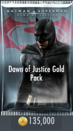 Dawn of Justice Gold Pack