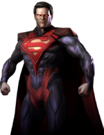 Injustice gau ios superman render by wyruzzah-d95jifk