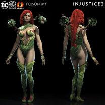 Внешний вид Ядовитый Плющ в Injustice 2