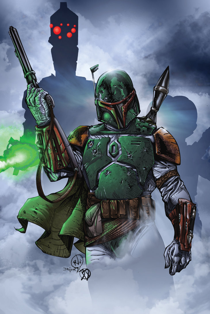 Boba Fett (Disassembled)