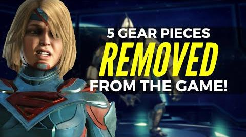 Injustice 2 5 Gear Pieces That Were REMOVED From The Game!