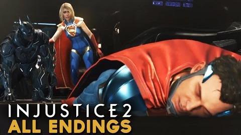 Injustice 2 - All Endings (Ending 1 + Ending 2) FINAL MISSION