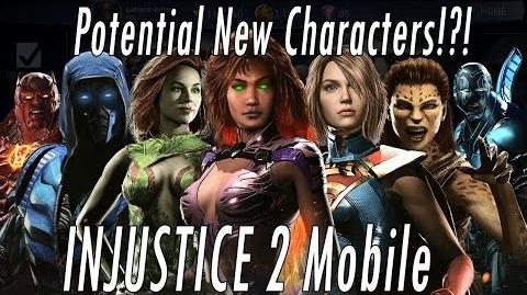 14 New Upcoming Characters In Next Update? Injustice 2 Mobile – Sub Zero Supergirl Aquaman Darkseid!