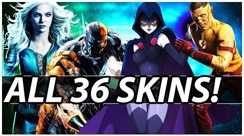 Premier Skins For ALL 36 Characters In Injustice 2!
