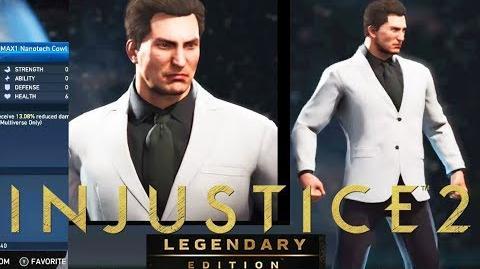 Injustice 2 Legendary Edition NEW BRUCE WAYNE Gear in the Injustice 2 Legendary Edition