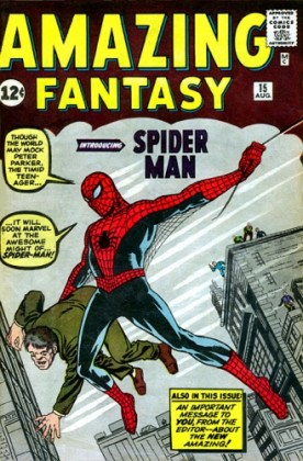 Image result for spider-man first appearance