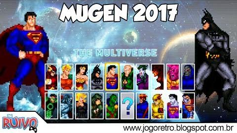 Injustice 16 Bits Edition (MUGEN 2017)