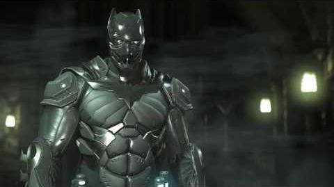 Injustice 2 Batman Black Panther gear