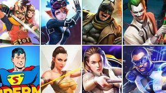 All exclusive characters INJUSTICE 2 Mobile !!