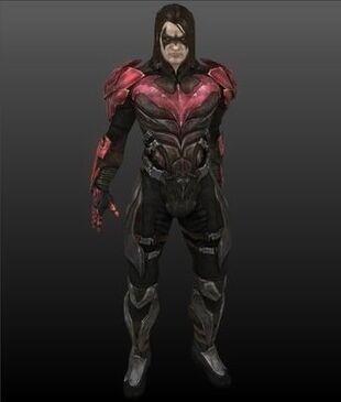 Nightwing (Damian Wayne) (Injustice: Amazonians Among Us ...