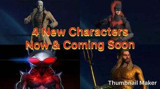 Injustice 2 Mobile - 4 New Characters Now in Game & Coming Soon