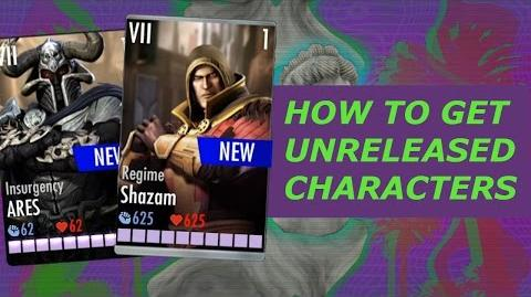 How To Unlock Insurgency Ares + Regime Shazam In Injustice Using Game Guardian (Unreleased)