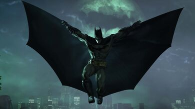 Flying-Batman-Wallpaper