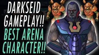 LEGENDARY DARKSEID GAMEPLAY! ULTIMATE PARADEMONS SPECIAL BEST CHARACTER APOKOLIPS INJUSTICE 2 MOBILE
