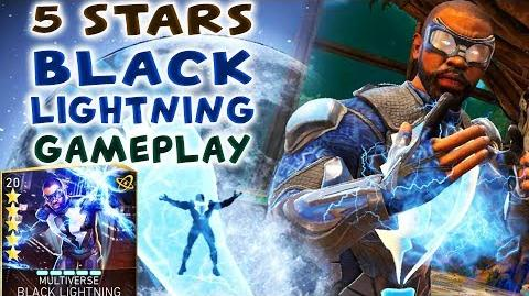 Injustice 2 Mobile. 5-STARS Black Lightning Gameplay Review. Is He Good Against Brainiac Hazards?