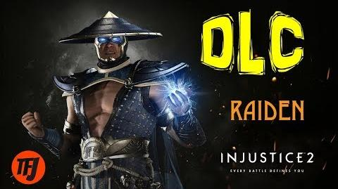 Injustice 2 Raiden DLC