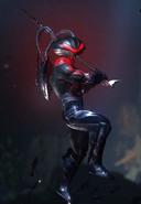 Black Manta (Injustice 2; stage transition)