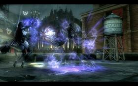 Raven vs Catwoman