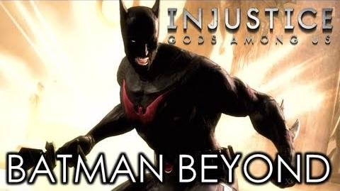 INJUSTICE- BATMAN BEYOND Super Move
