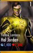 Hal Jordan the Yellow Lantern