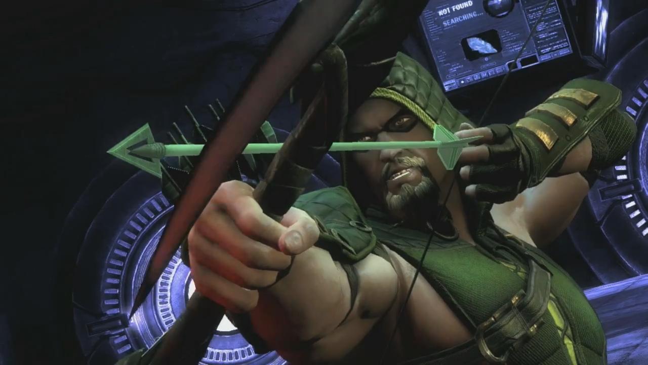 Injustice Gods Among Us Wallpaper Green Arrow