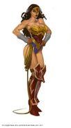 Wonder Woman Concept Art
