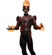 Firestorm (Character Select Render)