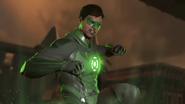Inj2 Green Lantern super move activating