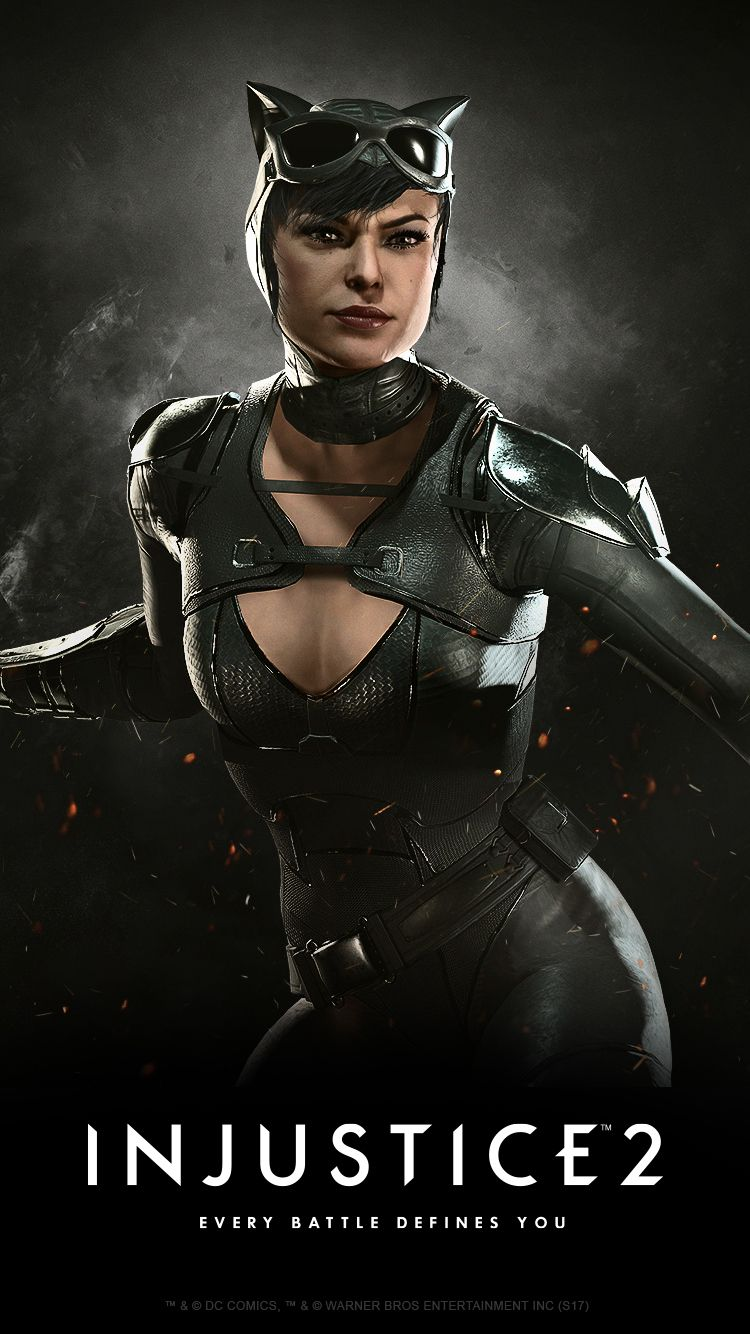 Injustice2 CATWOMAN Wallpaper MOBILE 55