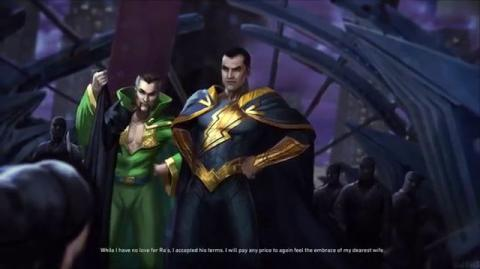 Injustice 2 - Black Adam Ending